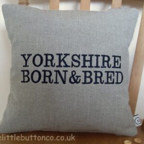 Yorkshire Born & Bred Cushion