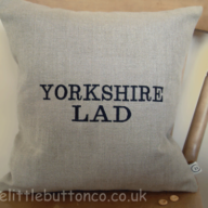 Yorkshire lad cushion