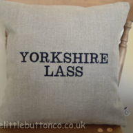 Personalised Lad or Lass cushion