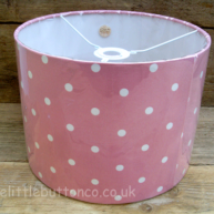 Pink spotty shade