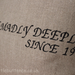 Truly Madly Deeply Cushion