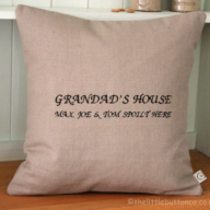 Grandad's House Cushion