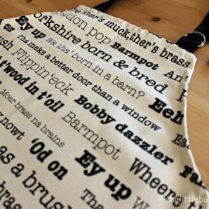 The Yorkshire Collection apron