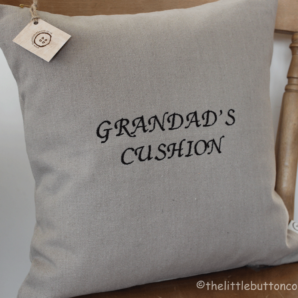 Personalised Grandad's Cushion