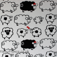 Sheep Collection Fabric