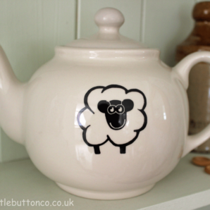 Sheep Design Tea Pot