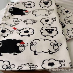 Sheep Collection Tea Towel