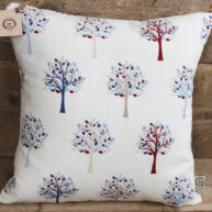 Orchard Cushion Blue