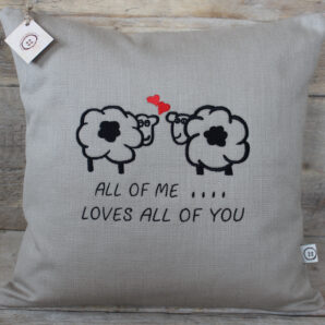 All of me…sheep cushion