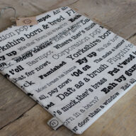 Yorkshire Collection Peg Bag