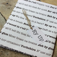 Yorkshire Wrapping Paper & Gift Tag
