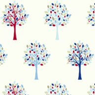 Woodland Fabric Blue
