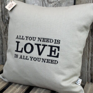 All You Need Is Love Cushion