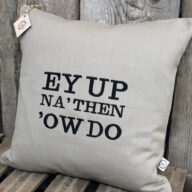 Yorkshire Greetings Cushion