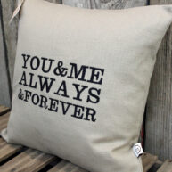 You & Me Always Cushion