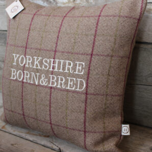 Yorkshire Born & Bred Heather Cushion