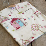 Summerhouse Pink Peg Bag