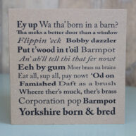 Yorkshire Sayings Greetings Card