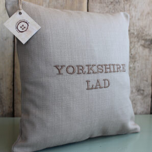 Yorkshire Lad Cushion Brown