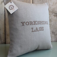 Yorkshire Lass Cushion Brown