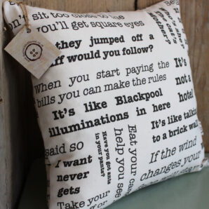 Words of Wisdom 12″ Cushion
