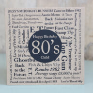 Birthday Card-Born in the 80's
