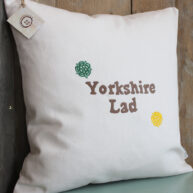 Yorkshire Lad Rose Cushion