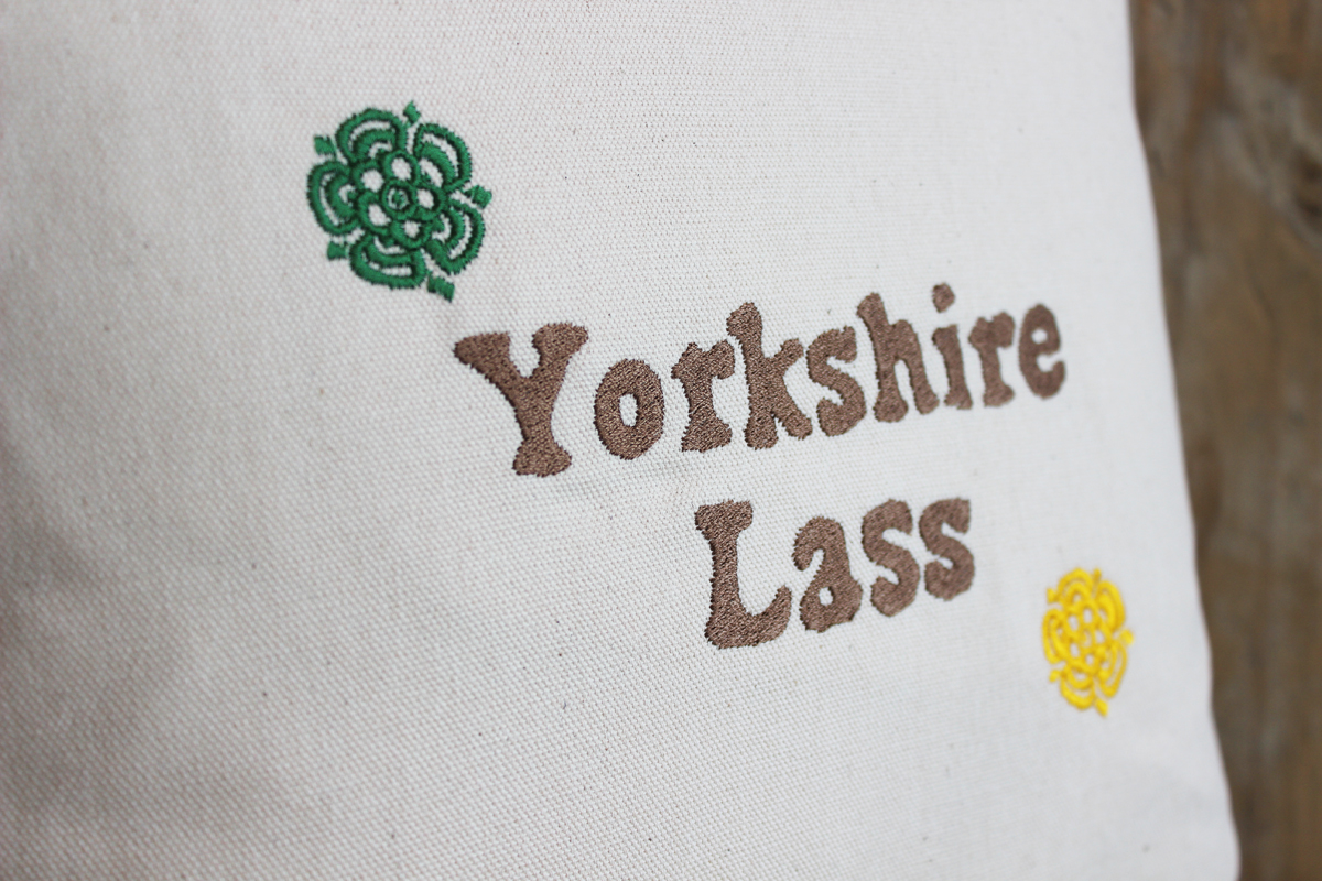Yorkshire lass rose cushion the little button co