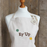 Ey Up Embroidered Apron