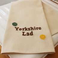 Yorkshire Lad Embroidered T-Towel
