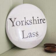 Yorkshire Lass Pocket Mirror
