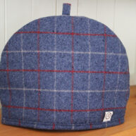 Blue Check Tea Cosy