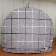 Grey Check Tea Cosy