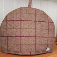 Heather Check Tea Cosy