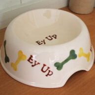 Ey Up Pet Bowl