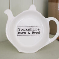 Yorkshire Born & Bred Tea Bag Holder