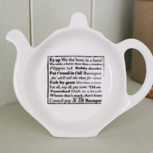 Yorkshire Sayings Tea Bag Holder