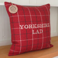 Yorkshire Lad Red Cushion